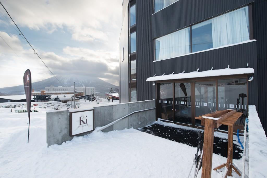 Ki Niseko Ski Valet Entrance