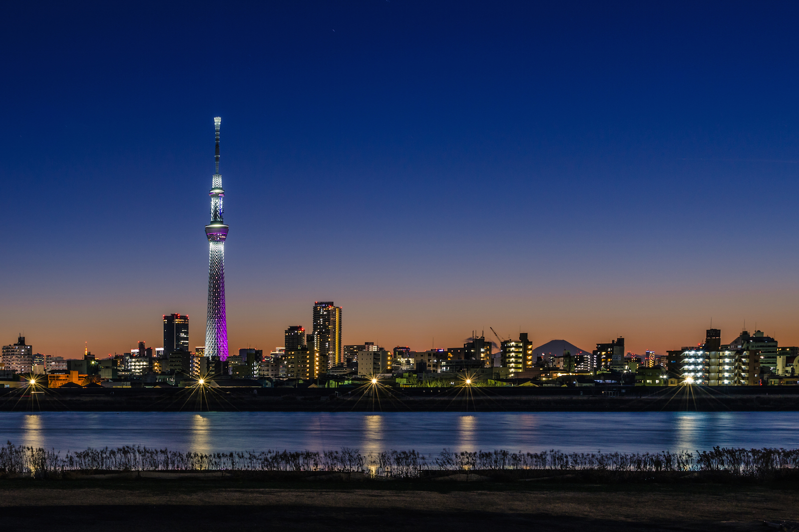 A Last Sunset In Tokyo 2013