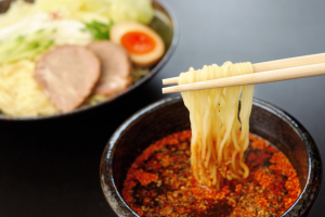 Soupless ramen (Tsukemen)