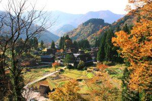 Autumn at Gokayama Gasshozukuri Village