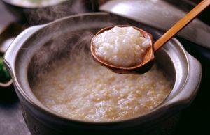 Chagayu (rice porridge)