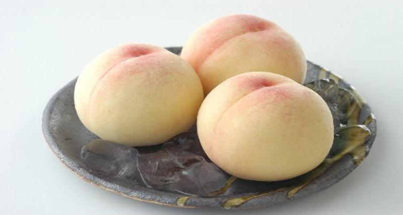 Shimizu White Peach-Okayama seasonal fruit picking