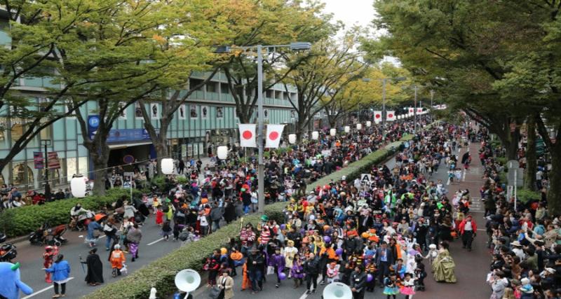 Omotesando Halloween Pumpkin Parade | Halloween parades in Tokyo
