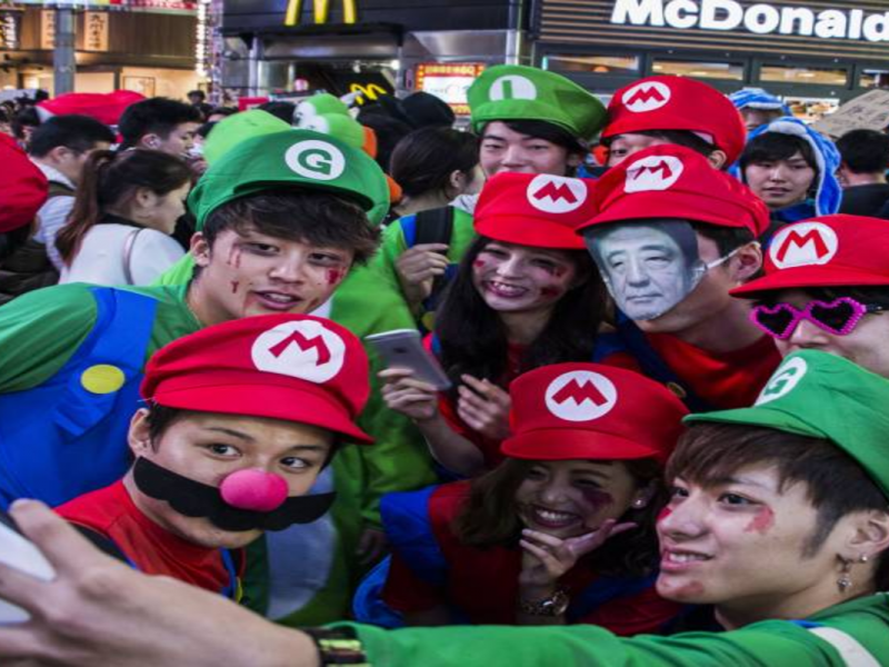 Celebrate Halloween Parades in Tokyo
